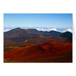 Haleakala Volcano, Maui Greeting Cards
