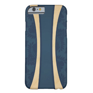 Haleiwa Hawaiian Striped Surfboard Maple Barely There iPhone 6 Case