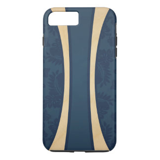 Haleiwa Hawaiian Striped Surfboard Maple iPhone 7 Plus Case