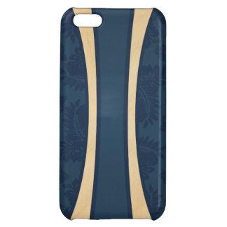 Haleiwa Hawaiian Striped Surfboard MapleKahunaDesi iPhone 5C Cover