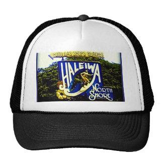 Haleiwa North Shore Hawaii hat