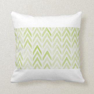 Halette Throw Pillow in Green Tea