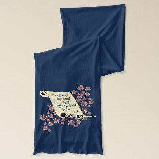 Half Agony Half Hope Jane Austen Persuasion scarf