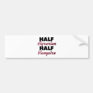 Half Agrarian Half Vampire Bumper Stickers