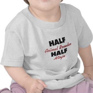 Half Animal Breeder Half Ninja Tshirt