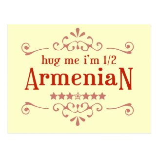 Half Armenian Postcard