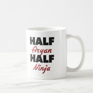 Half Aryan Half Ninja Coffee Mugs
