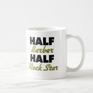 Half Barber Half Rock Star Coffee Mug