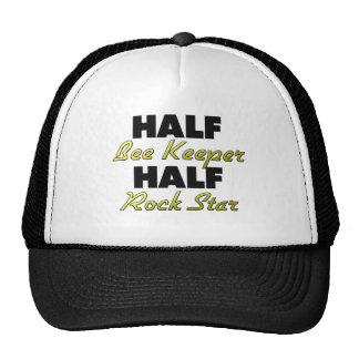 Half Bee Keeper Half Rock Star Cap