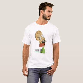 """Half-Body Larry"" White T-Shirt"