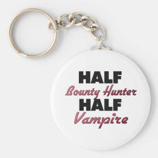 Half Bounty Hunter Half Vampire Keychain