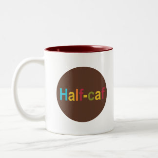 Half-caf Dot Mug