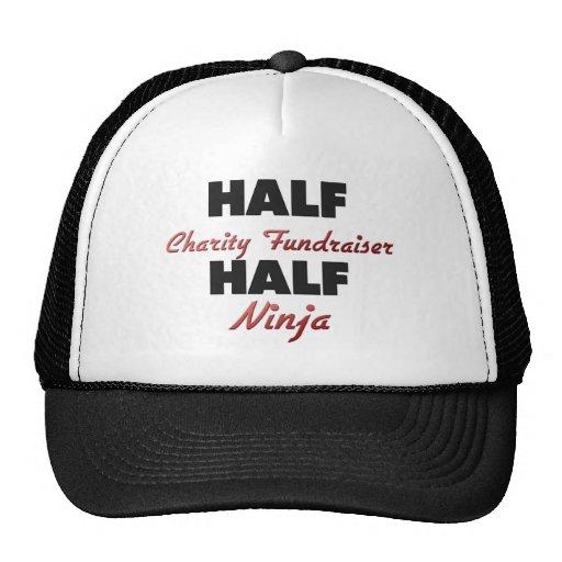 Half Charity Fundraiser Half Ninja Trucker Hat