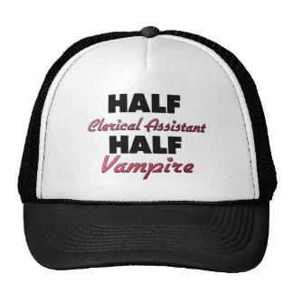 Half Clerical Assistant Half Vampire Hat