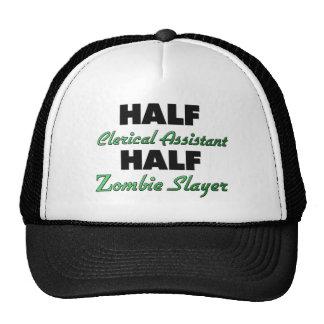 Half Clerical Assistant Half Zombie Slayer Hat