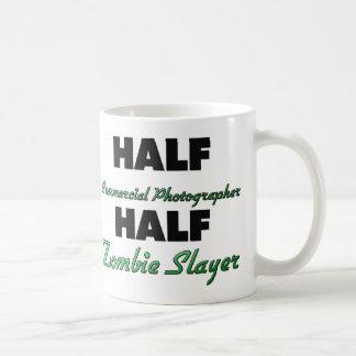 Half Commercial Photographer Half Zombie Slayer Basic White Mug