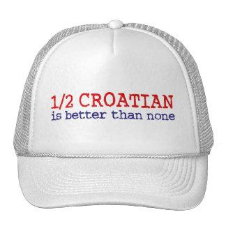 Half Croatian Trucker Hat