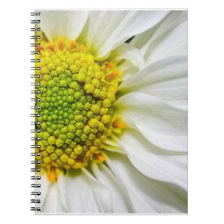 Half Daisy Notebook