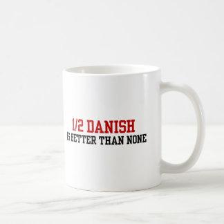 Half Danish Basic White Mug