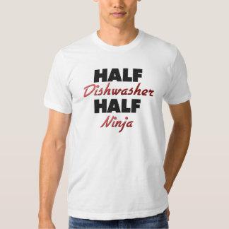 Half Dishwasher Half Ninja Shirts