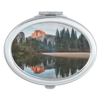 Half Dome and Merced Compact Mirror