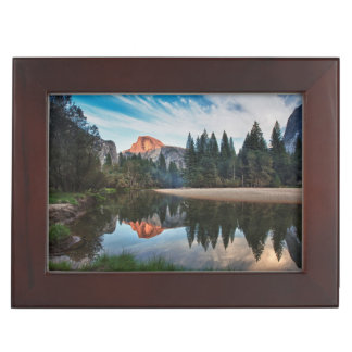 Half Dome and Merced Keepsake Boxes