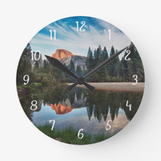 Half Dome and Merced Round Clock