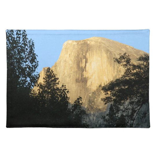 Half Dome at Sunset, Yosemite National Park Place Mats