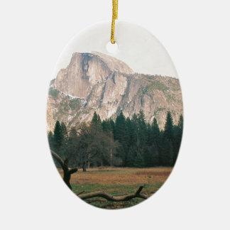 Half Dome Christmas Ornament