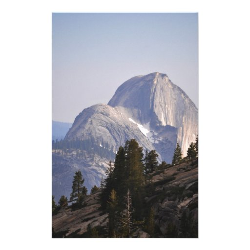Half Dome from Tioga Pass Customized Stationery