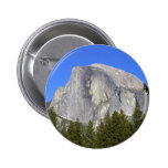 Half Dome In Yosemite National Park Great Mountain Buttons
