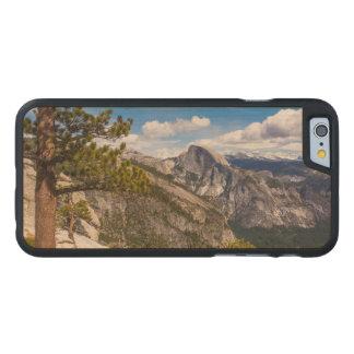 Half Dome landscape, California Carved® Maple iPhone 6 Slim Case