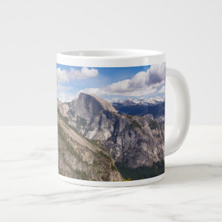 Half Dome landscape, California Large Coffee Mug