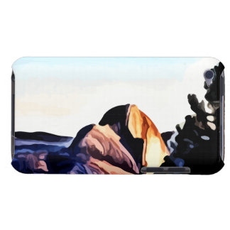 Half Dome Mountains painting iPod Touch Case-Mate Case