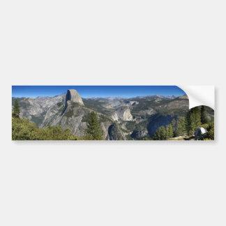 Half Dome Nevada Falls Vernal Falls (II) Bumper Sticker