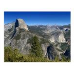 Half Dome Nevada Falls Vernal Falls (II) Postcard