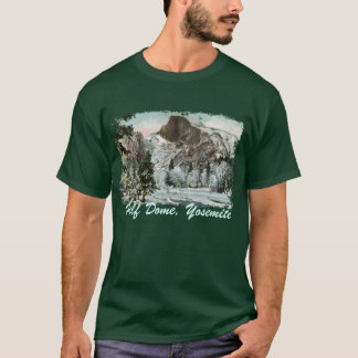 Half Dome Painted Men's Shirt