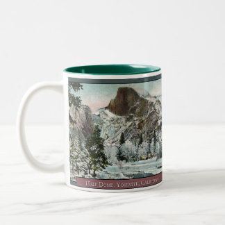 Half Dome Vintage Coffee Mug