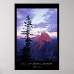 Half Dome Yosemite National Park Poster