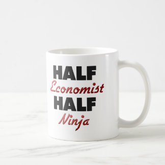 Half Economist Half Ninja Coffee Mug
