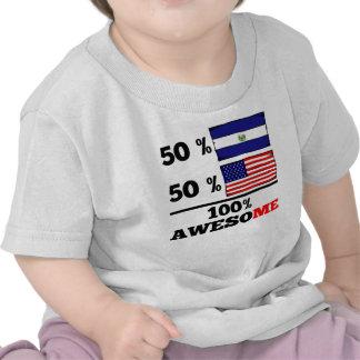 Half El Salvadorian Half American Tshirts