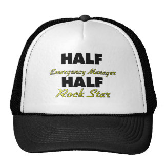 Half Emergency Manager Half Rock Star Hats
