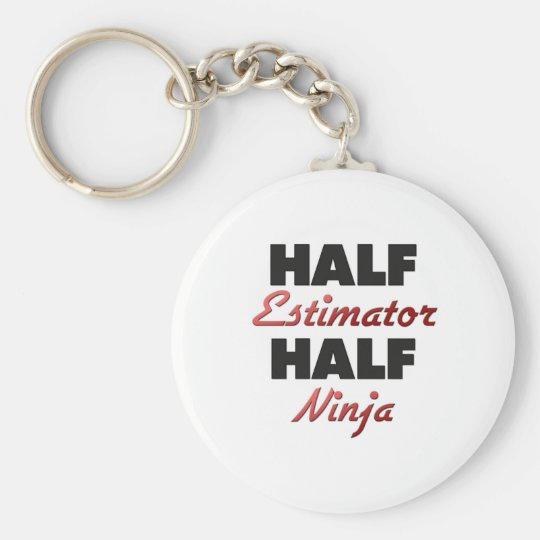 Half Estimator Half Ninja Key Ring