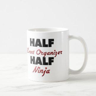 Half Event Organizer Half Ninja Mugs