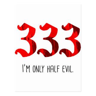 Half Evil Post Cards