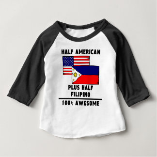 Half Filipino 100% Awesome Infant T-Shirt