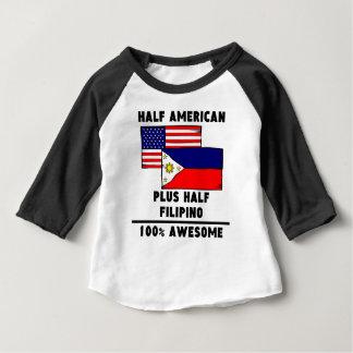 Half Filipino 100% Awesome Infant T-Shirt