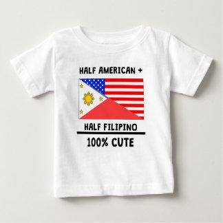 Half Filipino 100% Cute Tees