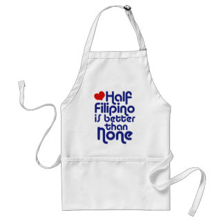 Half Filipino ... Aprons