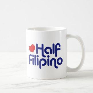 Half Filipino Basic White Mug